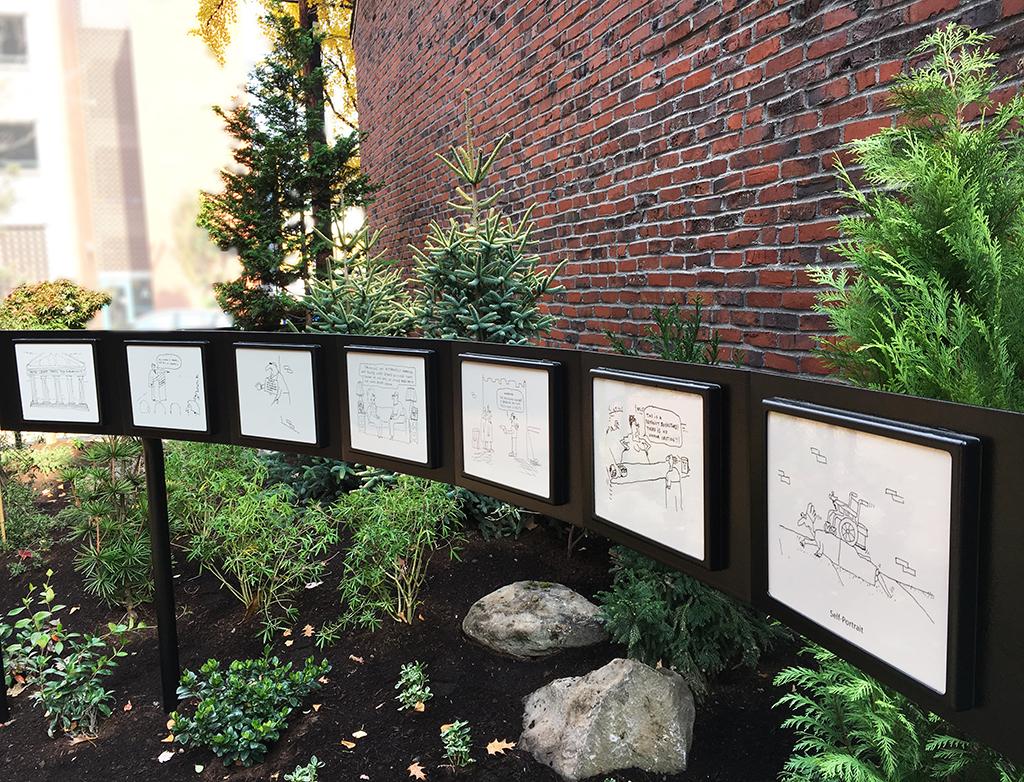 John Callahan Memorial Garden Stemmler Design